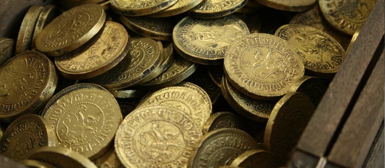 Schatz Münzen