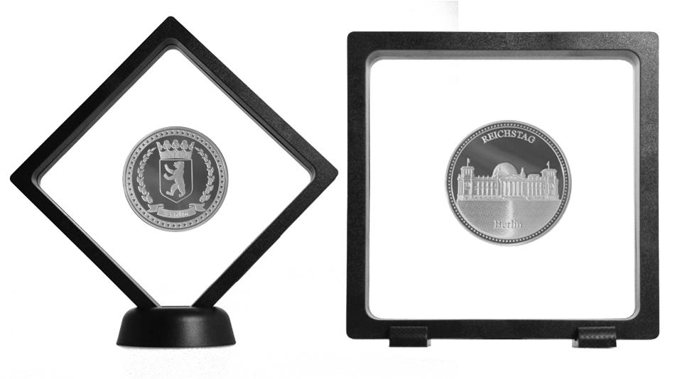 V24 - Cadre de présentation PVC avec membranes en silicone transparentes